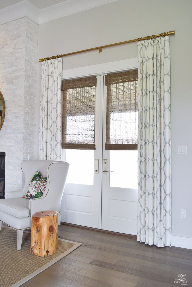 17+ best ideas about French Door Curtains on Pinterest