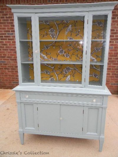 17 Best images about painted china cabinet/sideboard on Pinterest | Furniture, Painted china ...