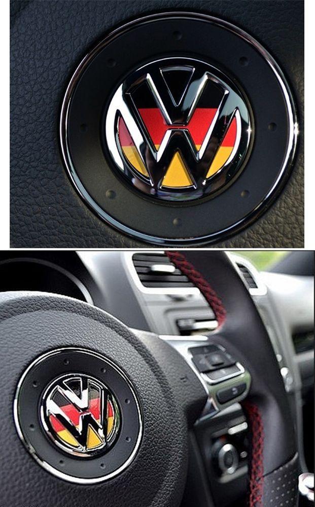 Vw Beetle Iphone Wallpaper Volkswagen Vw Logo Germany Steering Wheel Decal Car For