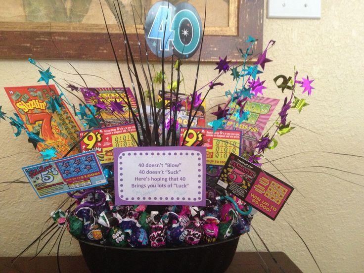 40th Birthday Gift Idea Gift Ideas Pinterest 40th
