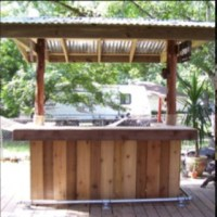 25+ Best Ideas about Outdoor Bars on Pinterest