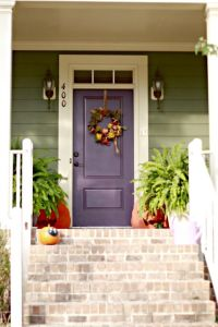 door colors for sage green house | Sage Green Siding w ...