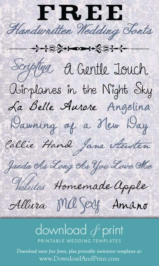 Invitation Handwriting Font 1000+ Ideas About Handwritten Wedding Invitations On