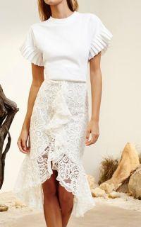 25+ best ideas about Ruffle Skirt on Pinterest | Maxi ...