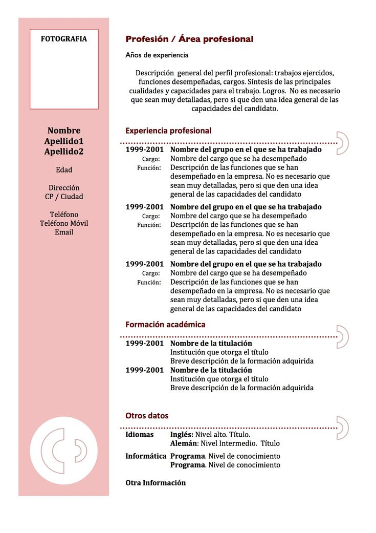 Curriculum Vitae Europass 17 Best Images About Curriculums On Pinterest