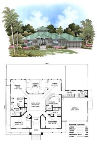 Florida Cracker Style COOL House Plan ID: chp