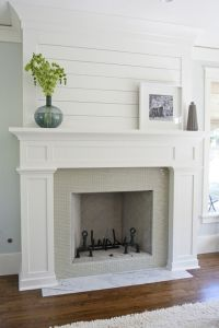 How To Build A Fireplace Surround For A Gas Fireplace ...