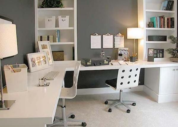 Home Office Setup Small Office. Home Office Furniture Design Ideas