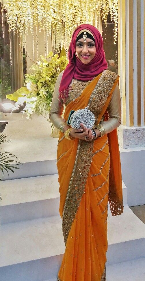 1000 images about saree with hijab on pinterest wedding
