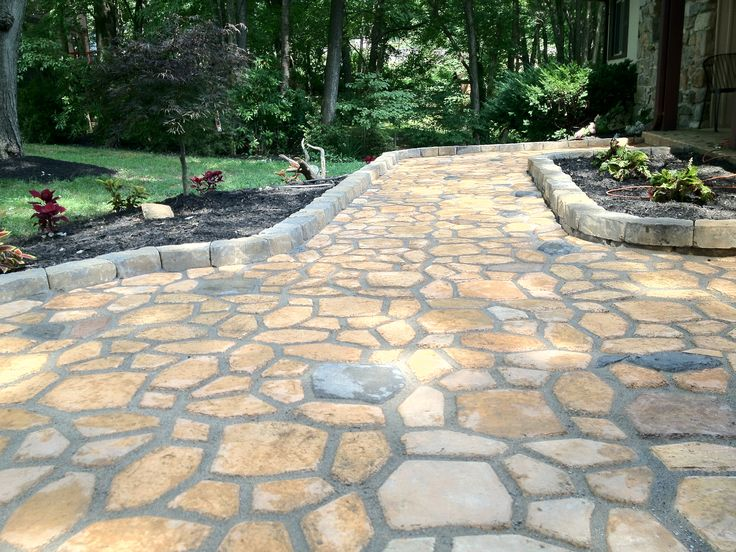 Flagstone Tegels [fan-made] This Patio Was Done Using The Quikrete Walk