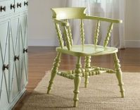 painted captain chair example | basement | Pinterest ...