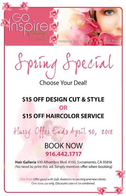 Spring Salon Special