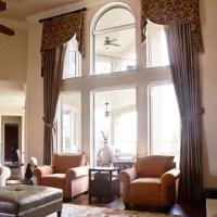 Tall windows, Tall window treatments and Window treatments
