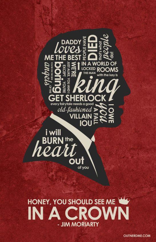 Moriarty Quotes Wallpaper Sherlock Jim Moriarty Quote Poster Sherlock Sherlock