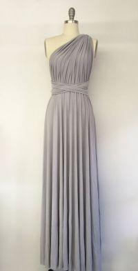 25+ best ideas about Silver bridesmaid dresses on ...