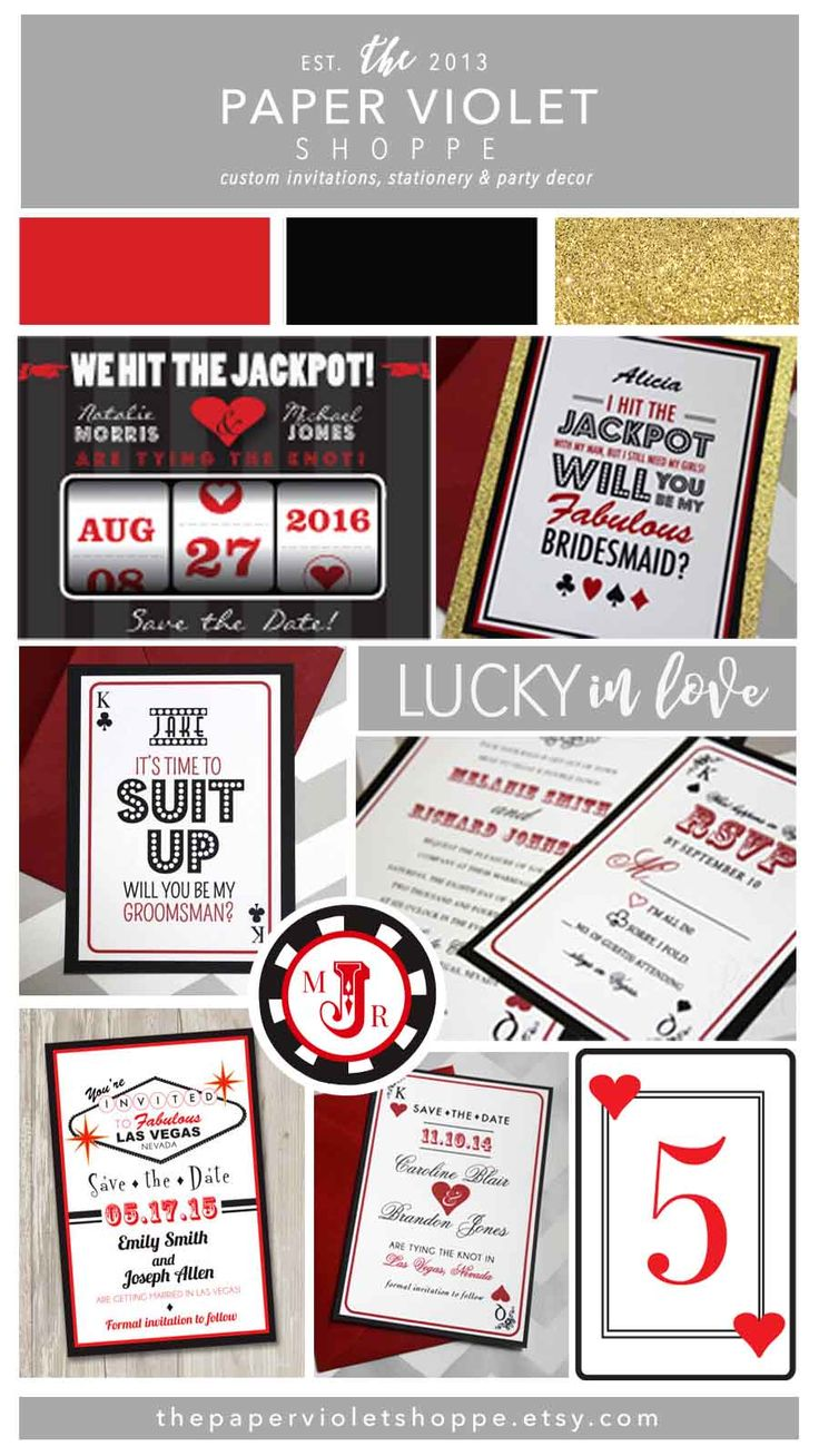 vegas wedding invitations las vegas wedding invitations Las Vegas wedding invitations save the dates more You can find this