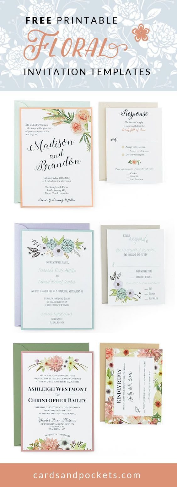 Michaels crafts wedding invitations - Wedding Invitations Michaels Craft Store Free Wedding Invitation Templates Customize And Download These Floral Designs Download