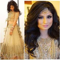 17 best ideas about Indian Wedding Hairstyles on Pinterest ...