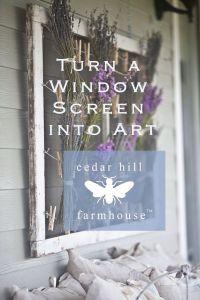 Best 25+ Old window screens ideas only on Pinterest ...