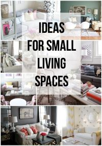 IDEAS for Small Living Spaces   Pastel, Small living ...