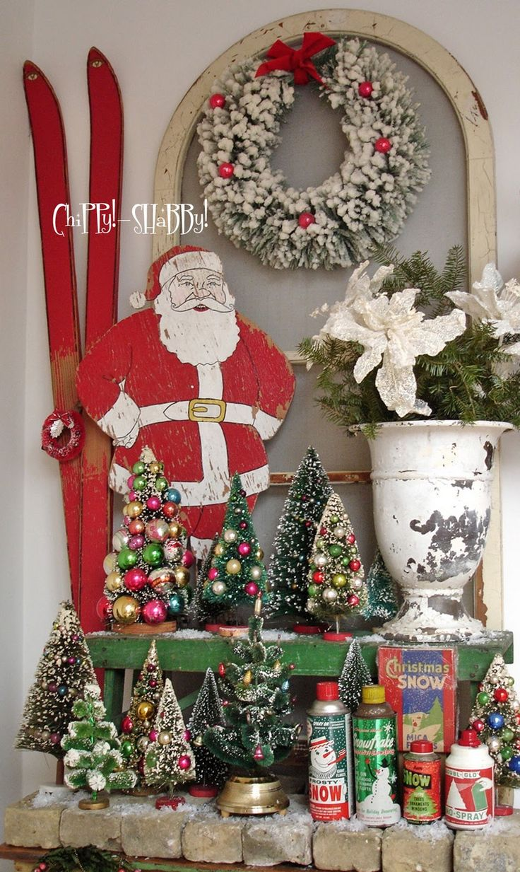Pinterest Christmas Vintage Chippy! - Shabby!: **chippy!-shabby! Vintage Christmas