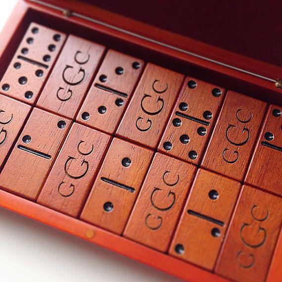 monogram dominoes