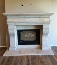 Stone Fireplace Hearth Ideas. Interesting Exposed Brick ...