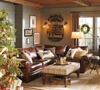 For the cabin living room... so cozy by the fireplace ...