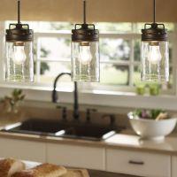 Pendant Light-Mason Jar Light-Pendant Lighting-Kitchen ...