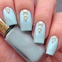 25+ best ideas about Pearl nail art on Pinterest   Bling ...