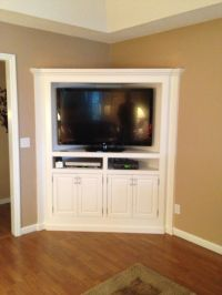 Build A Corner Tv Cabinet - WoodWorking Projects & Plans