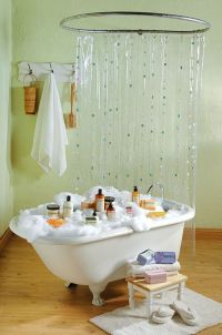 hula hoop shower | Crafts: Country Store | Pinterest ...