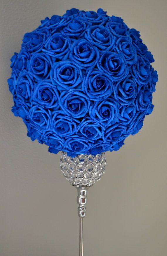 17+ Ideas About Blue Flower Centerpieces On Pinterest | Blue