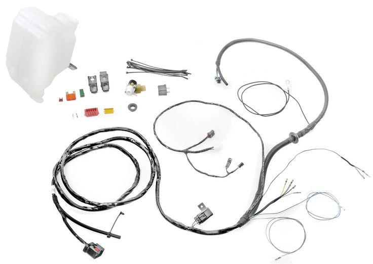 jeep tj hard top wiring kit