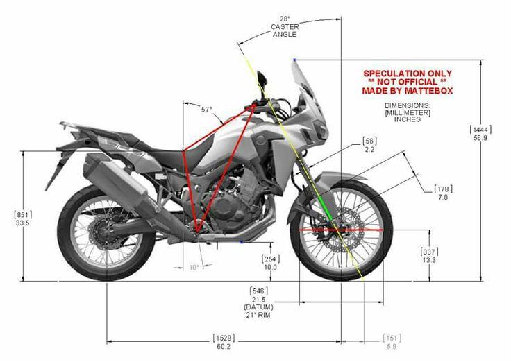 2016 honda africa twin motorcycle