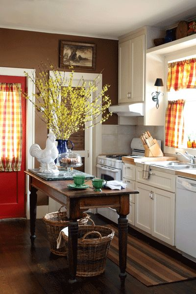Yellow Kitchen With Dark Brown Cabinets 25+ Best Ideas About Brown Walls On Pinterest | Brown