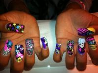 Best 25+ Curved nails ideas on Pinterest