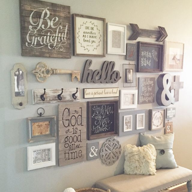25+ best ideas about Wall Collage on Pinterest