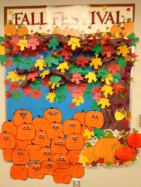 54 best images about Fall Bulletin Boards and Doors on ...