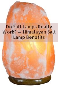 Himalayan crystal salt lamps make an attractive feature in ...