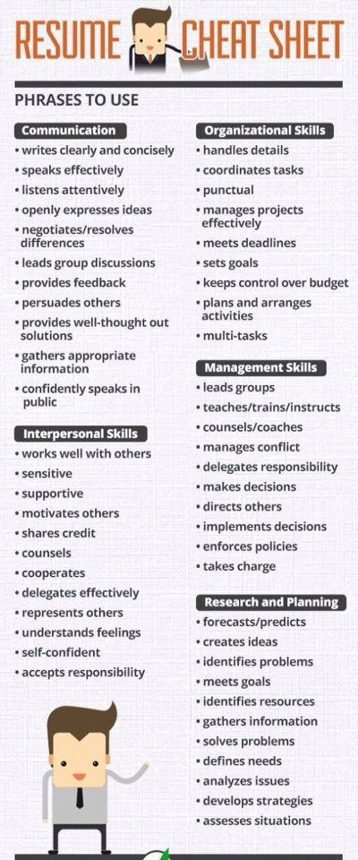 resume making tips pdf