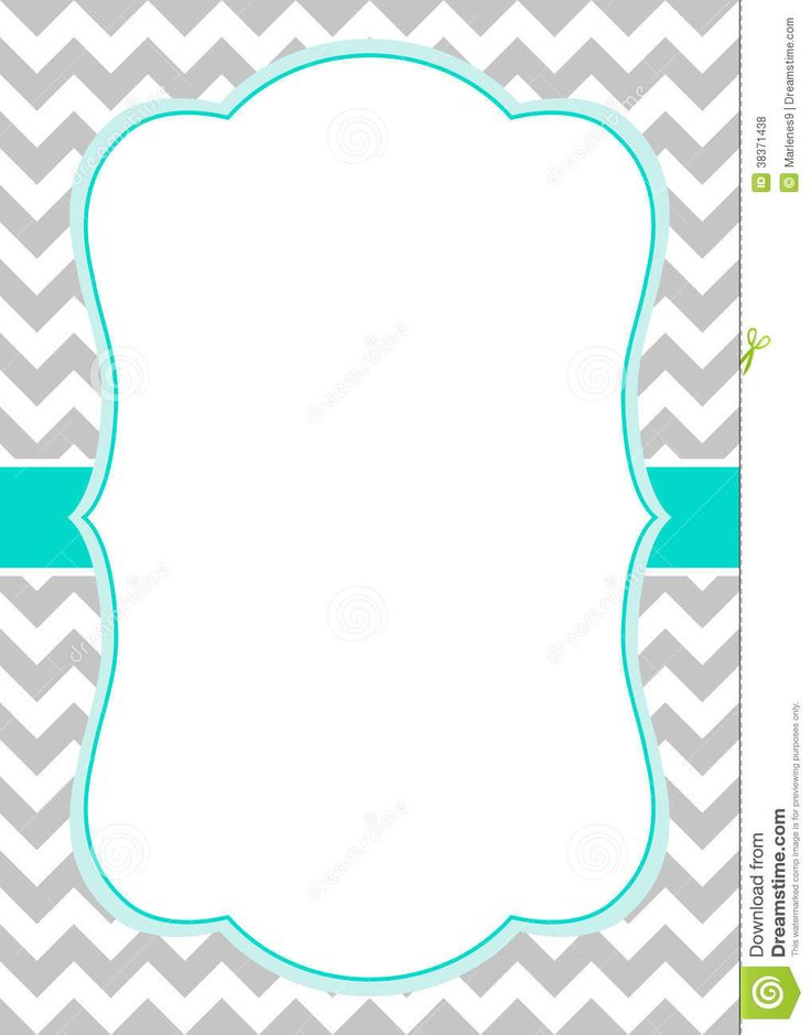 microsoft word template chevron border