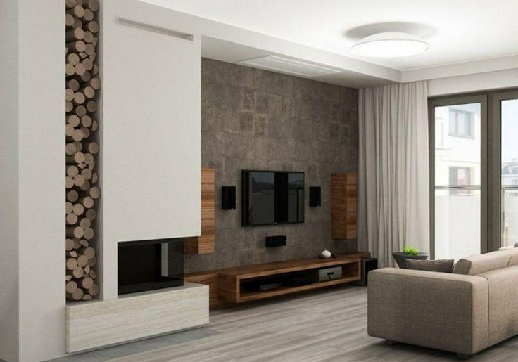 Wohnzimmer Tv Wand Naturstein ~ Home Design und Möbel Ideen - steinwand wohnzimmer fernseher