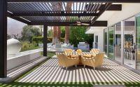 Modern Covered Patio Pergola Exterior Design | PATIO DECK ...