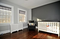 charcoal accent wall - nursery | Home ideas | Pinterest ...