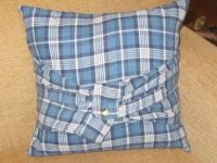 back of flannel shirt pillow | My Completed Projects ...