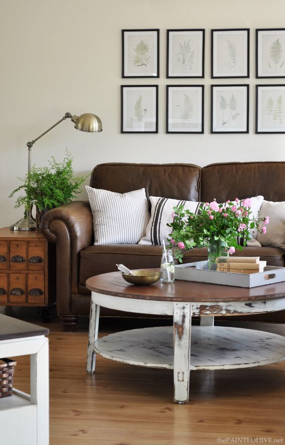 1000+ Ideas About Leather Sofas On Pinterest   Tan Sofa, Tan Couch