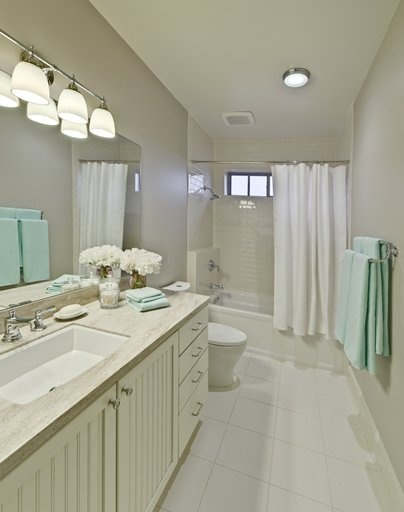 Traditional Bathrooms Corian® Shoreline From The Martha Stewart Living