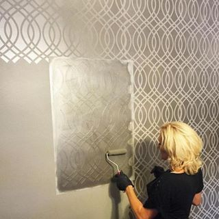 Best 20+ Stencils for painting ideas on Pinterest