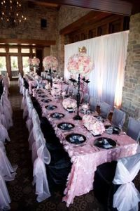 Parisians, Baby shower pink and Pink petals on Pinterest
